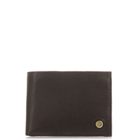 Panama Wallet with Coin Pocket-Brown