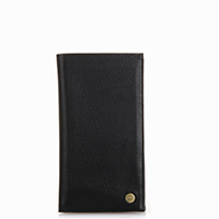 Panama Breast Pocket Wallet-Black