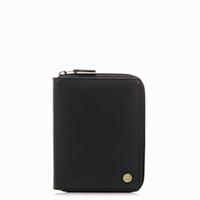 Panama Zip Around Wallet-Black