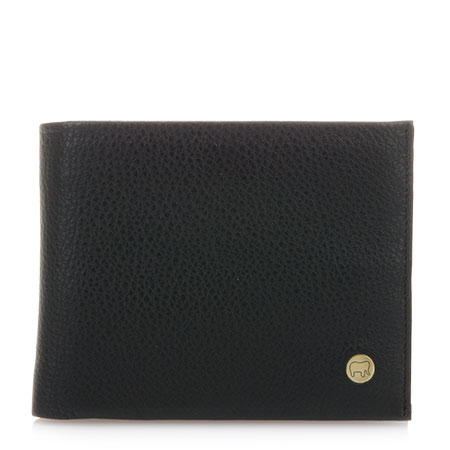 Panama Wallet with Inner Leaf-Black