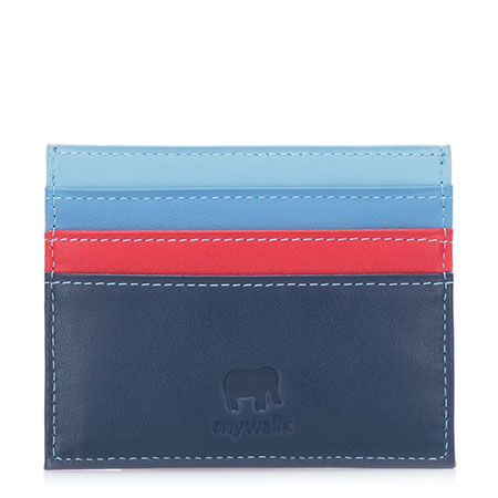 RFID Double Sided Credit Card Holder-Royal