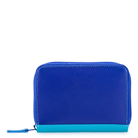 RFID Zipped Credit Card Holder-Seascape