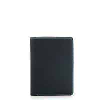 Continental Wallet with C/C Pockets-Black/Pace