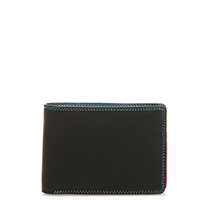 Jeans Wallet with Inner Leaf-Black/Pace