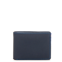 Jeans Wallet with Inner Leaf-Kingfisher