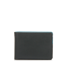 Jeans Wallet with Inner Leaf-Smokey Grey