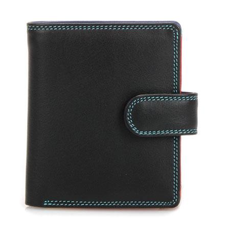 Tri-fold Tab Wallet-Black/Pace