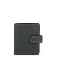 Tri-fold Tab Wallet-Smokey Grey
