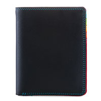 Medium Slim Wallet-Black/Pace