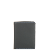 Medium Slim Wallet-Smokey Grey