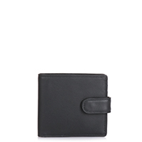 Tab Wallet w/inner leaf-Black