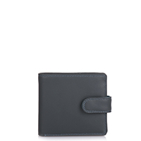 Tab Wallet w/inner leaf-Smokey Grey