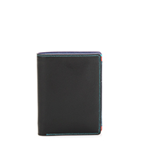 Wallet w/inner Leaf & Coin Pocket-Black/Pace