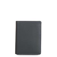 Wallet w/inner Leaf & Coin Pocket-Smokey Grey
