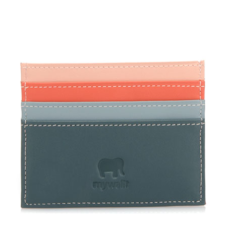 Double Sided Credit Card Holder-Urban Sky