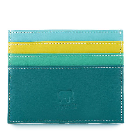 Double Sided Credit Card Holder-Mint
