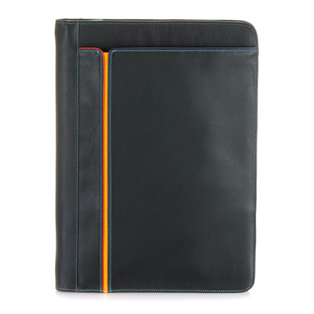 Office A4 Document Case-Black/Pace