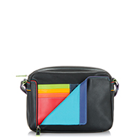 Small Organiser Cross Body Bag-Black/Pace