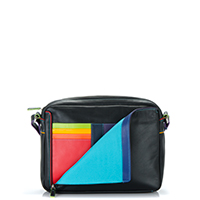 Medium Organiser Cross Body Bag-Black/Pace