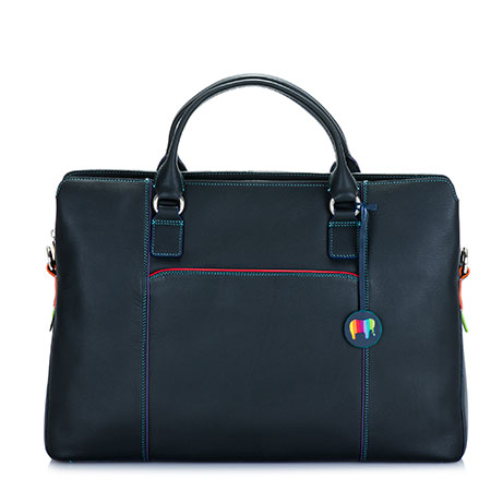 Business Briefcase-Black/Pace