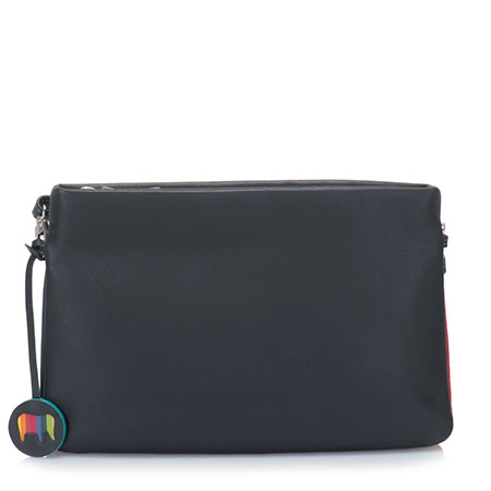 Kyoto Small Clutch-Black/Pace