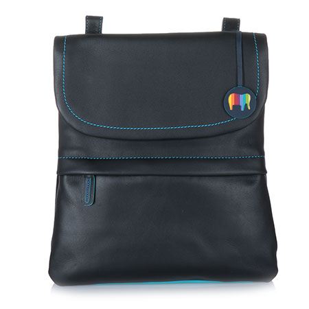 Kyoto Medium Backpack/Messenger-Black/Pace