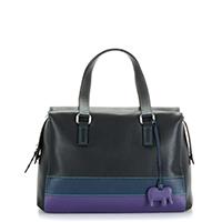Brighton Beach Medium Grab Bag -Black/Pace