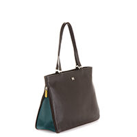 Copenhagen Shopper-Brown/Evergreen
