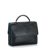 Oslo Medium Work Bag-Black/Pace