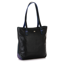 Stockholm Large Tote -Black/Pace