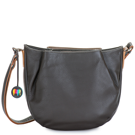 Verona Across Body Hobo-Mocha