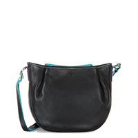 Verona Across Body Hobo-Black/Pace