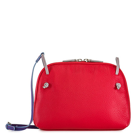 Rio Small Zip Top-Red