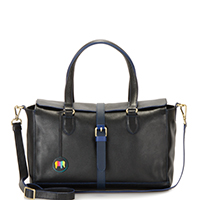 Prague Barrel Bag-Black