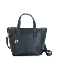 Naples Small Crossbody-Black
