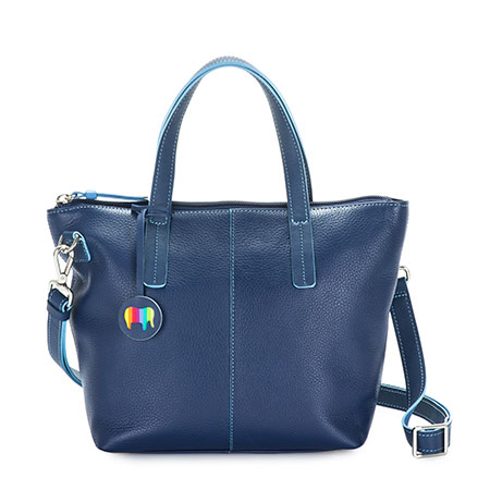 Naples Small Crossbody-Blue
