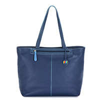 Naples Large Tote-Blue