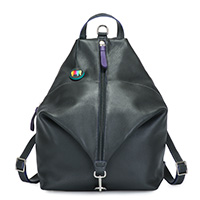 Naples Two-Way Backpack-Black