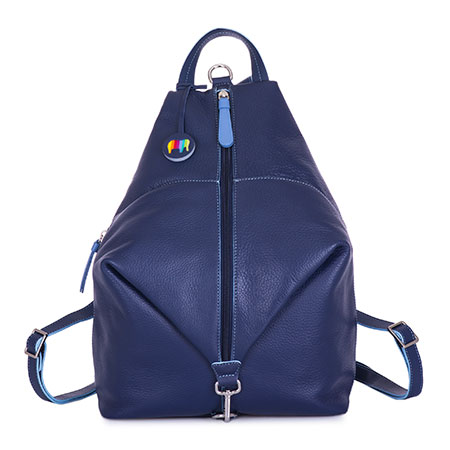 Naples Two-Way Backpack-Blue