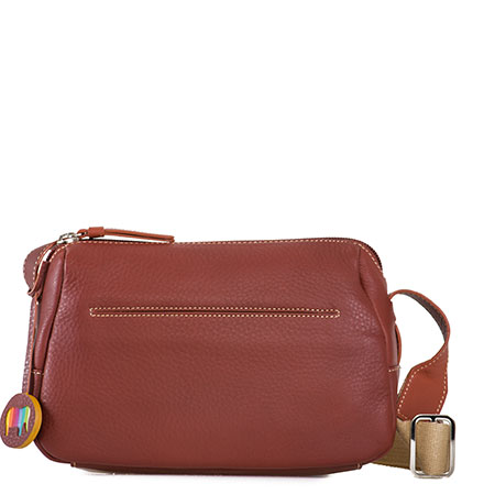 Santiago Small Shoulder Bag-Tan