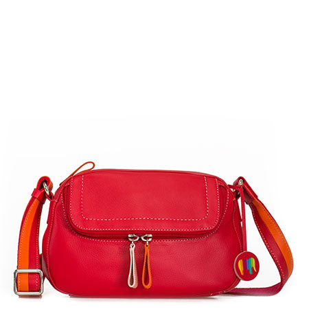 Seoul Small Shoulder Bag-Red