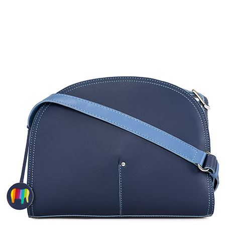 Bali Half Moon Bag-Blue