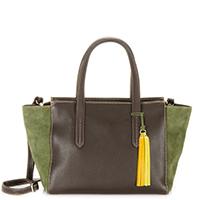 Nevada E/W Shopper-Brown/Evergreen
