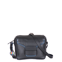 Monaco Crossbody-Black/Pace