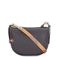 Riga Half Moon Bag-Mocha