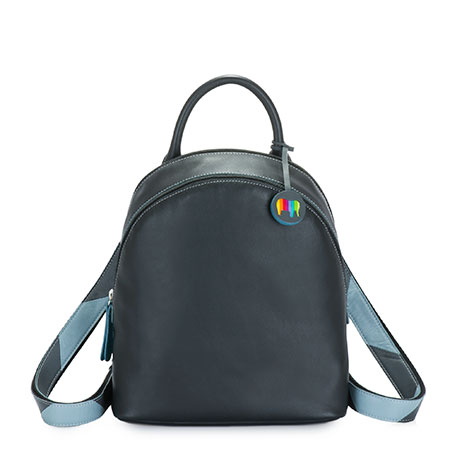 Riga Backpack-Black Grey