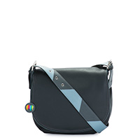 Riga Satchel-Black Grey