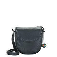 Vienna Small Satchel-Black