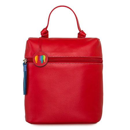 Bruges Mini Backpack-Red