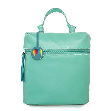 Bruges Mini Backpack-Sage